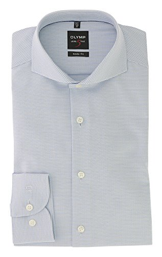OLYMP Level Five -  Camicia Casual  - Classico  - Uomo Blau