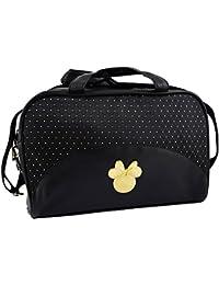 Disney Mickey Et Minnie Make-Up Borsa Vanity Nero e Oro - - Borsetta Nero e Oro Borsa Make-Up Vanity - 340 g
