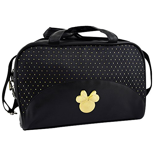 Disney Mickey & Minnie Bolsos Maquillaje Negro Dorado