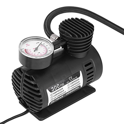 12-V-300PSI-compressore-d-aria-portatile-kit-pompa-di-gonfiaggio-per-pneumatici-moto-biciclette-compressore-d-aria-elettrica-Gonfiatore-con-manometro