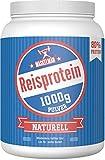 Maskelmän Reisprotein (1000g) - Proteinanteil von über 80% - Ohne Zusatzstoffe - 100% vegan - Trägt zum Muskelwachstum bei