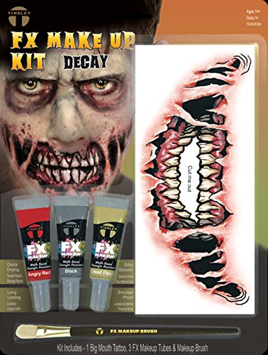Tinsley fx colour make up kits–zombie
