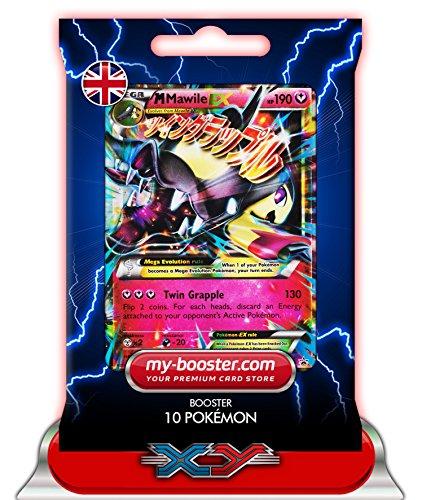 MEGA M MAWILE EX (Mysdibule) XY104 190HP XY10 - Booster de 10 cartes Pokemon anglaises my-booster