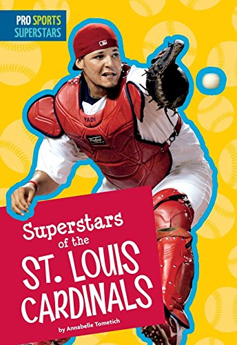 Superstars of the St. Louis Cardinals (Pro Sports Superstars) (English Edition) por Annabelle Tometich