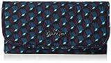 Kipling Supermoney - Portafogli Donna, Mehrfarbig (Mirage Print), 26x10x3 cm (B x H T)