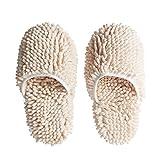DQWKDJIBI Pantofole per Pavimenti in Ciniglia Pulire Succhiare Acqua Antiscivolo Panno per La Pulizia della Casa Pantofole per La Pulizia della Casa Prodotti per La Pulizia della Casa