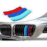 ADATECH 3X CLIPS PARA PARRILLA DE BMW PARRILLA 11 RADIOS TRES COLORES TIRAS PARA REJILLA