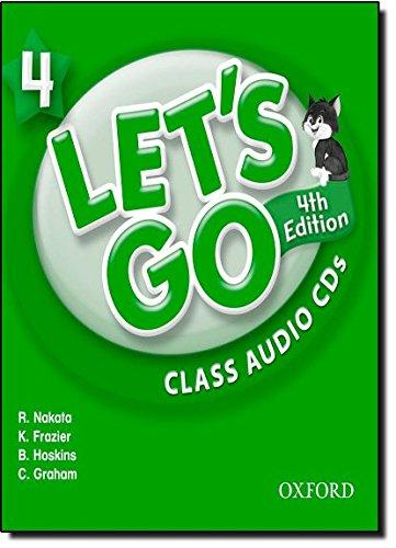Let's Go 4 Class Audio CDs