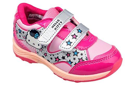 Hello Kitty Kinder Sportschuhe, mit Klettverschluss, Original Lizenzware, Gr. 24-32 Pink