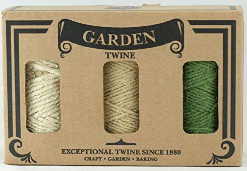 Dick Garten-Ranken Multipack Geschenk-Box/natur Jute und Sisal Saiten–Ideal für Geschenke, DIY, Arts & Crafts, Dekoration, Bündelung, Garten und Recycling