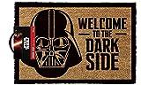 empireposter Star Wars Welcome to The Darkside-Felpudo, tamaño: 60x 40cm, Material Fibra de Coco