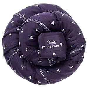 manduca Sling > Kollektion 2018 PurpleDarts < Elastisches Baby-Tragetuch GOTS Zertifikat 100% Baumwolle, 3 Bindeanleitungen (Bauchtrage Wickelkreuztrage Hüfttrage) Neugeborene & Babys bis 15kg, lila