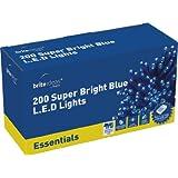 Brite Ideas Festive 200 Multiaction LED Lights - Blue