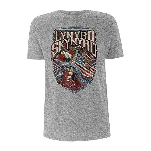 Lynyrd Skynyrd Sweet Home Alabama Grey Rock Offiziell Männer T-Shirt Herren (XX-Large)