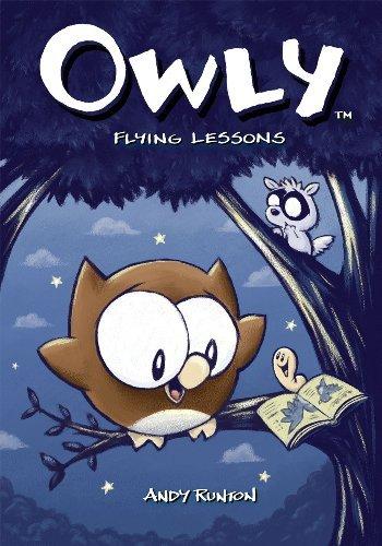 Portada del libro Owly, Vol. 3: Flying Lessons (v. 3) by Andy Runton (2006-01-05)