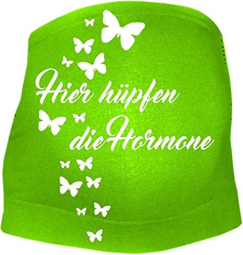 KLEINER FRATZ Ceinture de grossesse spécial grossesse - Slogan - Femme - vert - 50