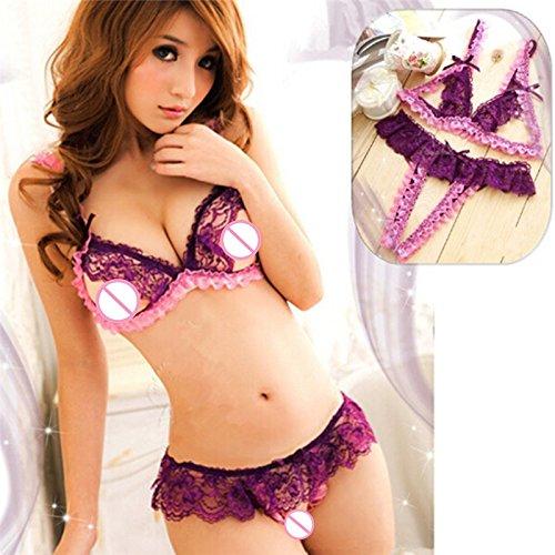 YQZXKL Bodystocking Dessous Frauen Mood Body Erotica Teddy -