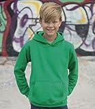 All we do is - Kinder Kapuzensweatshirt Hoodie Sweatshirt, weiß, Gr.152