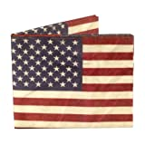Stars and Stripes Mighty Tyvek WALLET CARTERA by Dynomighty - Addject