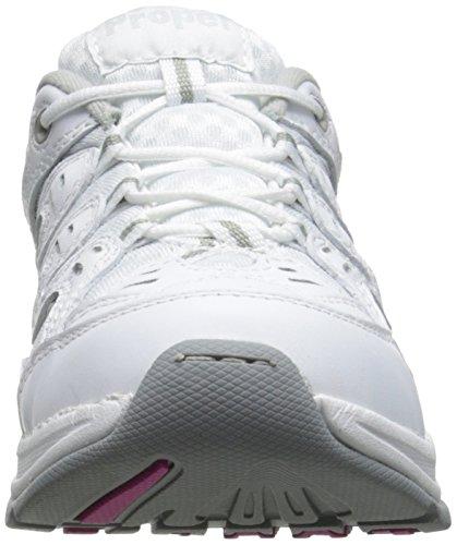 Propet Evie étroit Cuir Baskets white