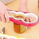 Kefaith Apriscatole universale Apriscatole Apriscatole Kitchen Gadget Facile attrezzo torsione per più dimensioni Apriscatole