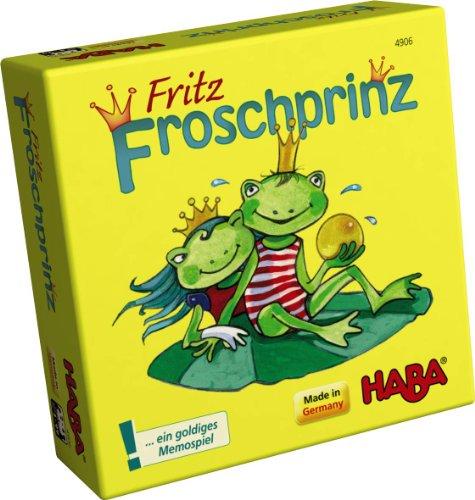 Imagen principal de Haba 4906 Fritz Froschprinz - Juego de memoria (en alemán)