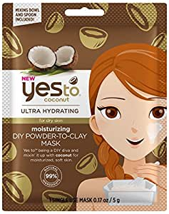 Yes to Coconuts idratante DIY Clay Mask