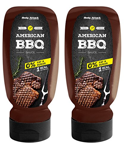 Body Attack BBQ Sauce, 2er Pack (2x 320ml)