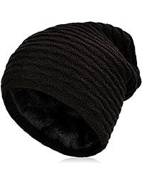 VBIGER Beanie Cappello in Maglia Cappelli Invernali Berretti in maglia  Cappello Invernale Beanie Unisex Caldo Cappello 5d3bd5ffebc1