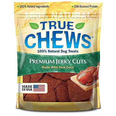 Tyson True Chews Premium Duck Jerky Strips Fillets Dog Treats Food 12oz 12ct