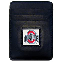 NCAA Ohio State Buckeyes Leather Money Clip/Cardholder