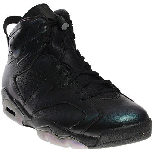 Air Jordan 6 Retro As Schuhe Sneaker Neu Mens (EUR 46 US 12 UK 11, Black/Black/White)  (Retro Jordan 11 Schuhe Für Männer)