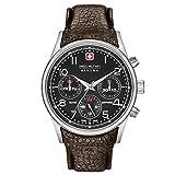 SWISS MILITARY-HANOWA Herren Analog Quarz Uhr mit Leder Armband 06-4278.04.007