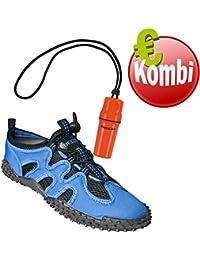 Beco - Zapatos Unisex De Neopreno, Blau Inkl. Allée - Zapatos Néoprène Unisexe, Blau Inkl. Beachbox, 39 Eu Beachbox, 39 I
