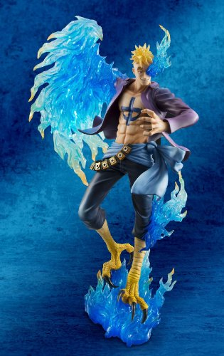 Megahouse One Piece Portrait of Pirates: Marco The Phoenix Excellent Model MAS PVC Figure 8