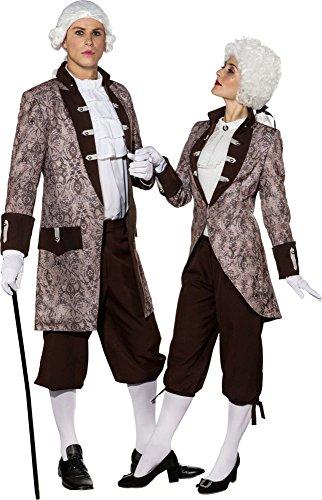 Damen Kostüm Barock Baronin Jacke Karneval Fasching (Baronin Kostüm)