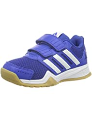 adidas Niños Indoor Zapatos Interplay CF Azul/White/Gum azul Talla:32 EU
