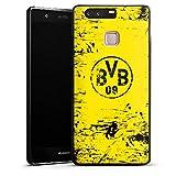 DeinDesign Huawei P9 Hülle Case Handyhülle Borussia Dortmund BVB Fanartikel