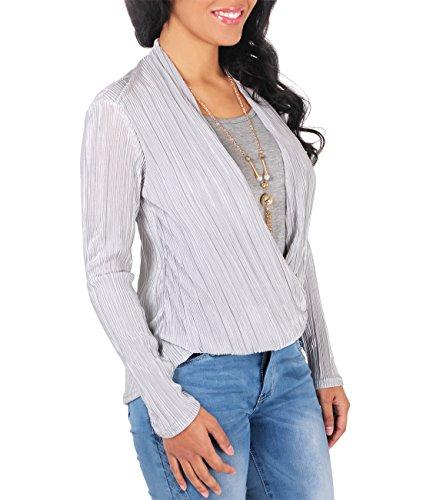 KRISP - Camicia - Maniche lunghe  -  donna Grigio