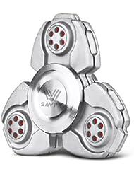 SAVFY Fidget Spinner Finger Hand Spinner Keramik Lager für Autismus EDC Bremskraftbegrenzer Entlastet und Entspannung für Kinder und Erwachsene