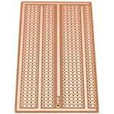 ExcLent DIY Universal Solderless PCB Test Breadboard Single Side Copper Paper Tinned Plate 2-3-5 Joint Sandy Brown