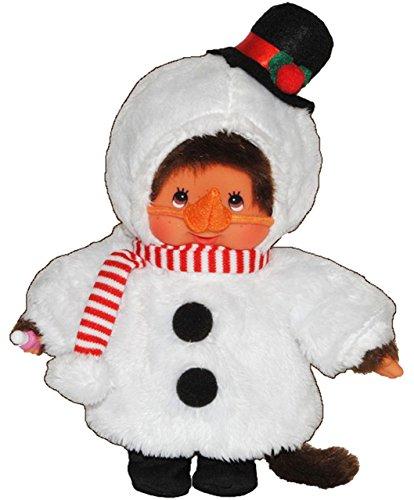 Monchhichi als Schneemann - ausziehbar - Monchichi Snowman Winter Weihnachten verkleidet (Kostüm Monchichi)