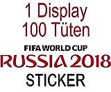 Panini WM Russia 2018 - Sticker - 1 Display (100 Tüten)