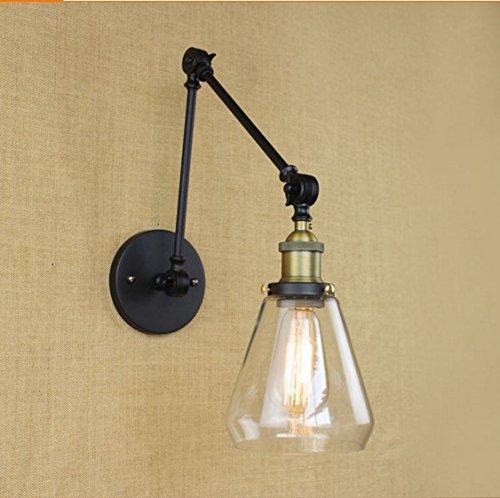 YJNB Edison Stile Loft Industriale Lampada A
