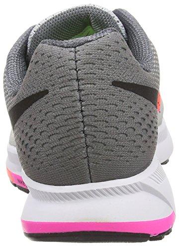 Nike Air Zoom Pegasus 33, Scarpe da Corsa Donna Argento (Plateado (Pr Pltnm / Blk-Cl Gry-Pnk Blst))