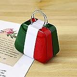 Mini borsellino portamonete Bluelover, custodia per tè, scatola portaoggetti ItalienischeFlagge