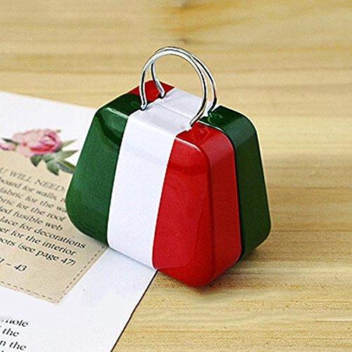 Bluelover Mini Kleine Zinn-Münzkassette-Geldbeutel-Kasten-Schmucksache-Tea-Aufbewahrungsbehälter Italian flag