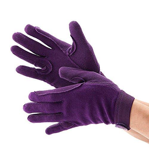 Newbury Handschuhe Violett violett XS Age 9-11