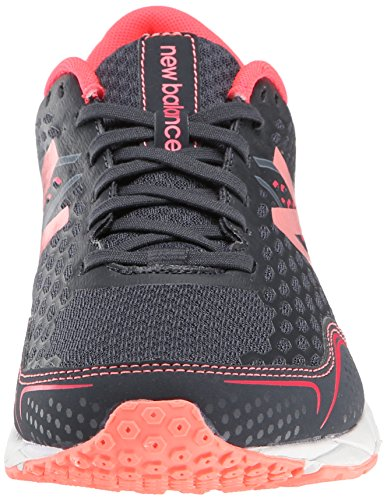 New Balance Women's W650V2 Running Shoe Dark Grey/Bright Cherry