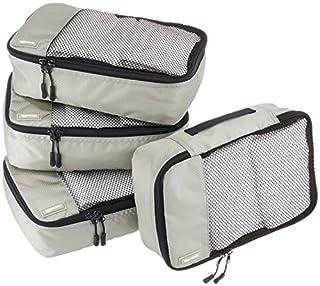 AmazonBasics Lot de 4sacoches de rangement pour bagage TailleS, Gris (B014VBI7OO)   Amazon Products